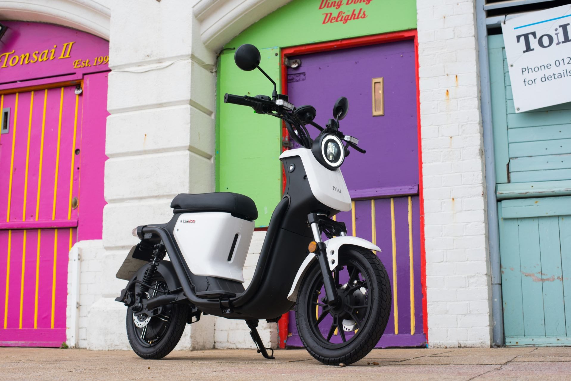 niu ngt scooter white